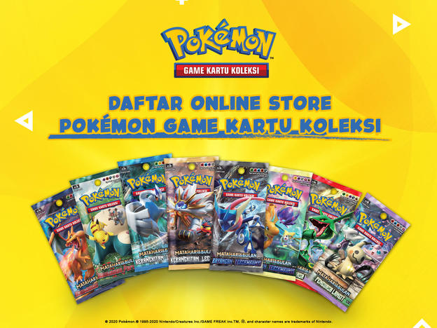 Online Store Pokemon Indonesia