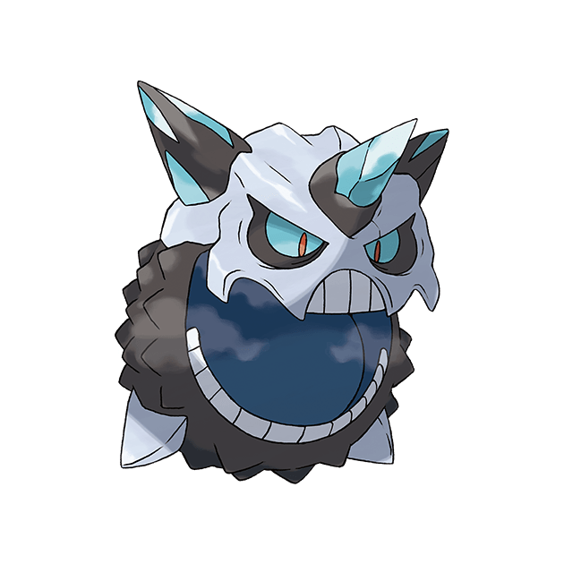 Mega Glalie | Pokédex | The official Pokémon Website in